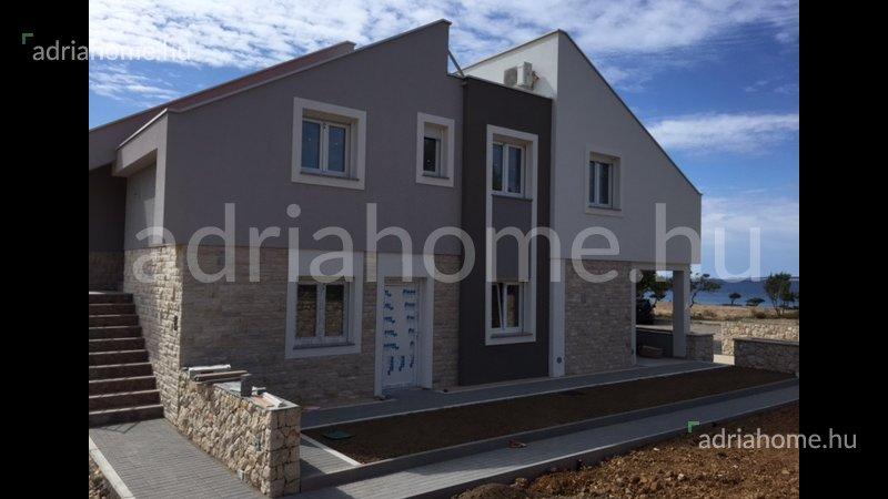 Novalja – Újépítésű apartmanok közel a tengerhez