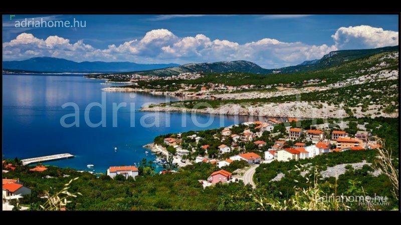 Klenovica – Két építési telek kilátással a tengerre