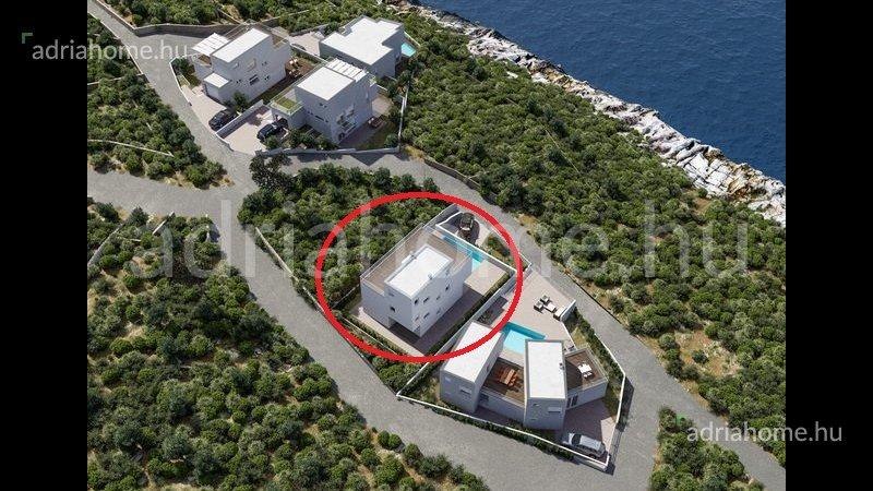 Rogoznica – Villa projekt második sorban a tengertől