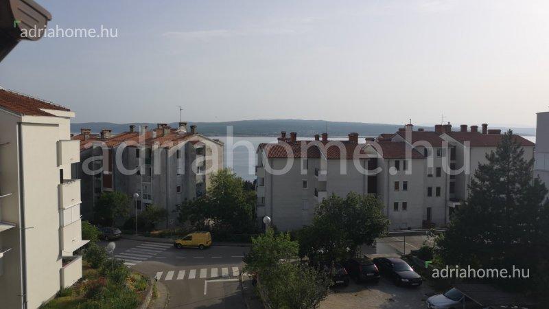 Crikvenica – Háromszobás penthouse, magas roh-bau