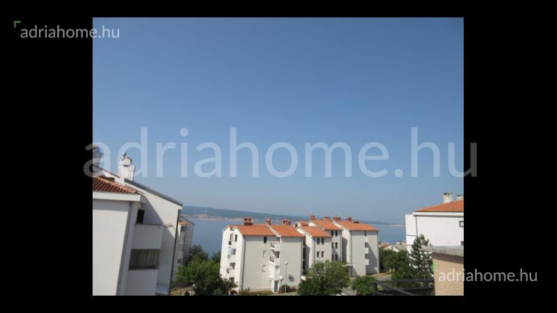 Crikvenica – Akció! Kéthálószobás lakás kilátással a tengerre