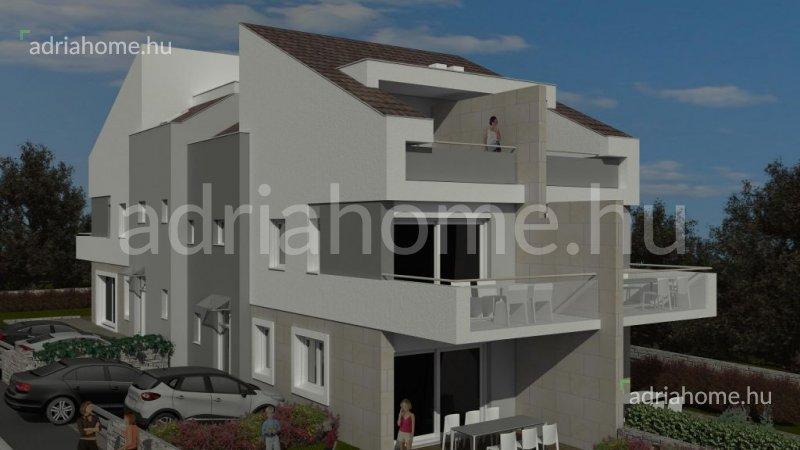 Šimuni - Új beruházás 4 sorház építésére első sorban a tengertől