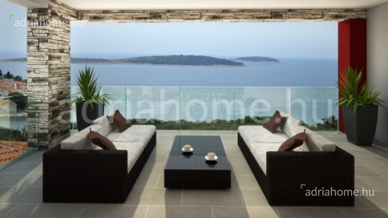 Primošten – New apartments with a beautiful view of the sea and the islands