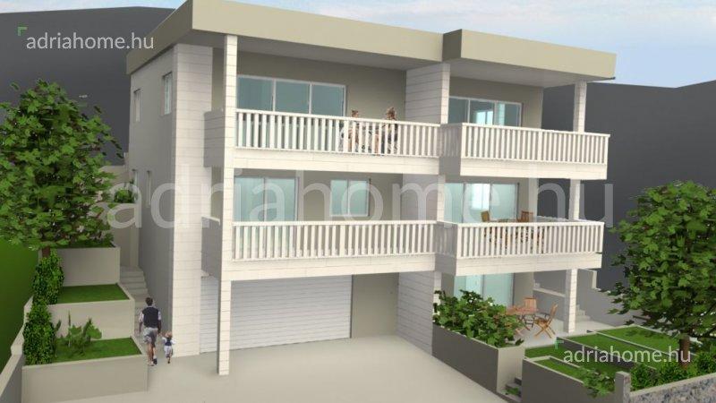 Rogoznica – Nova villa sa 2 apartmana i otvorenim pogledom na more