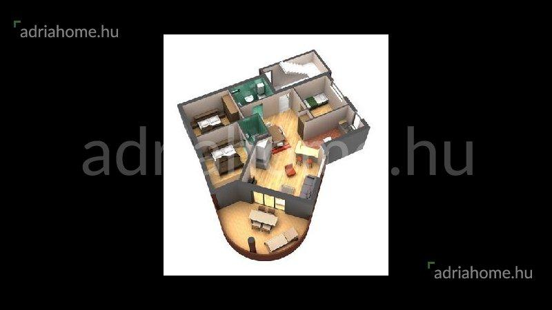 Rogoznica – Trosoban apartman sa bazenom