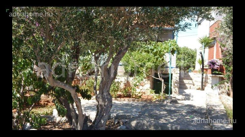 Trogir – Családi ház Drvenik Mali szigeten, első sorban a tengertől