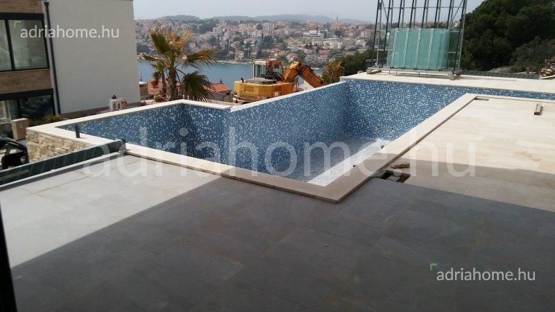 Čiovo – 6 luxusvilla medencékkel és csodálatos panorámával a tengerre