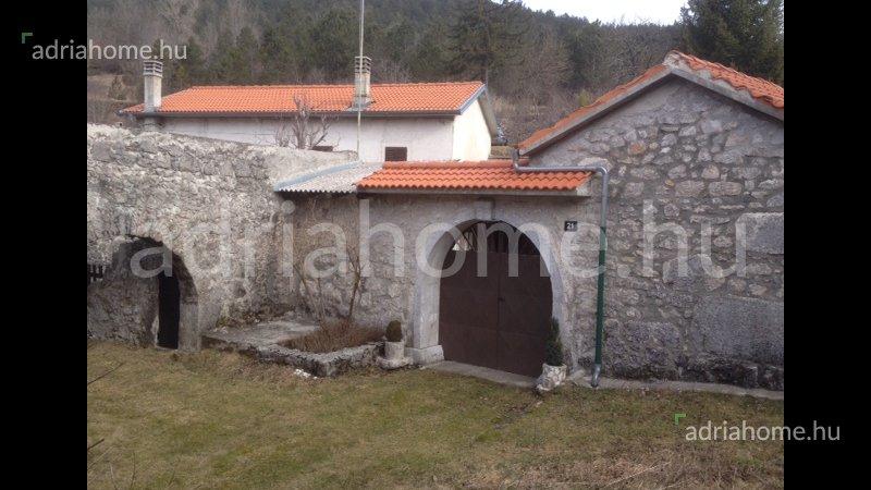 Istria, Ćićarija - Birtok kőházzal Isztriában