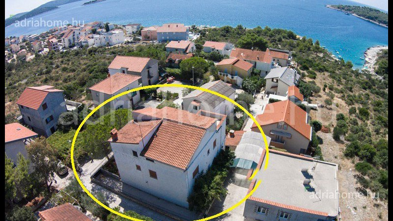 Rogoznica - Beautiful house with superb seaview