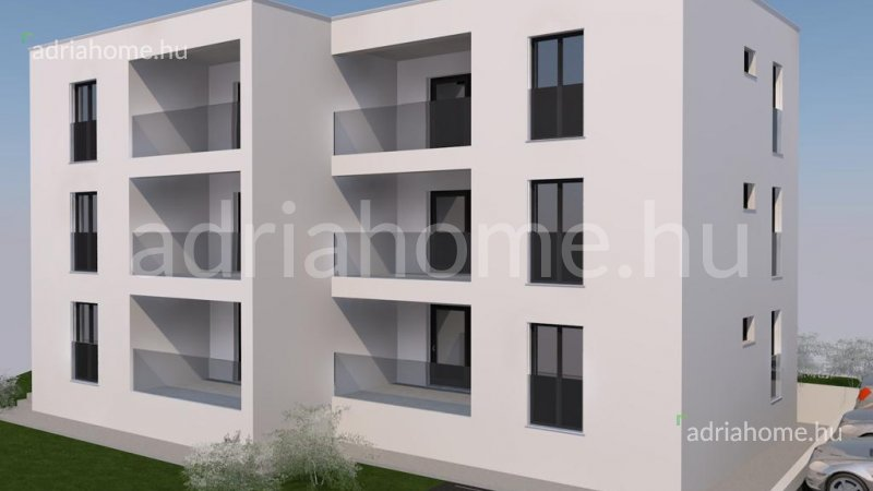 Rogoznica – Újépítésű apartmanok mindössze 130 méterre a tengertől
