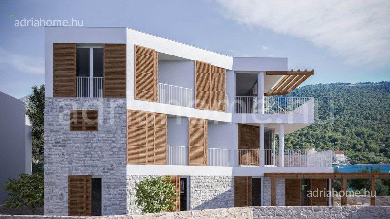Primošten – Három apartman az első sorban