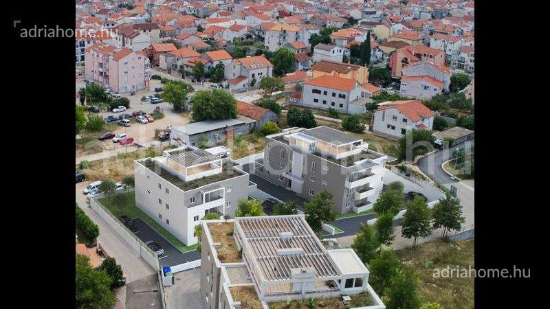Vodice - Új építésű lakópark kilátással a tengerre