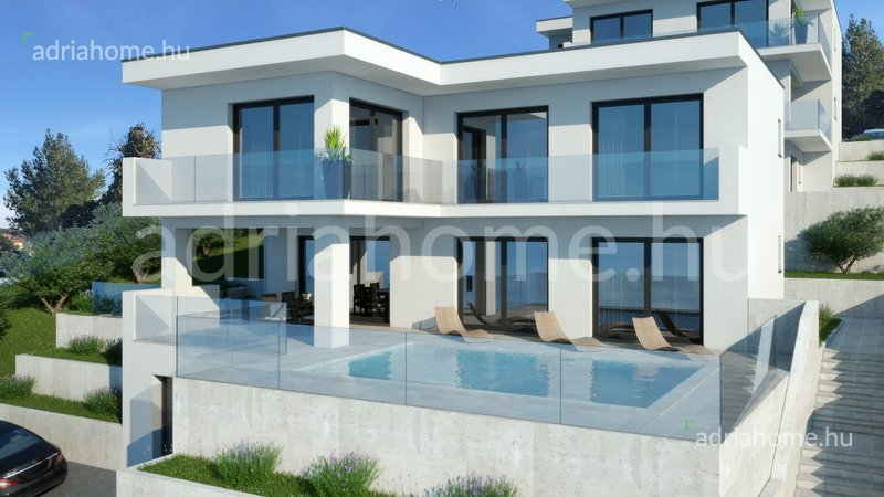Rogoznica - Two villas in the first and second row to the sea, an exceptional location