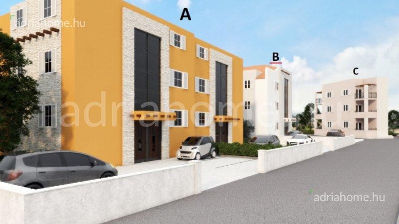 Tribunj - Újépítésű apartmanok kilátással a tengerre