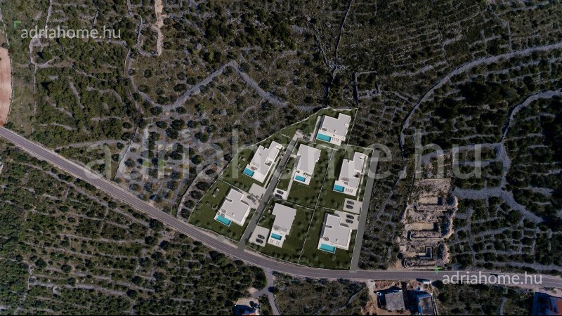 Rivijera Primošten –Projekt 7 luksuznih vila sa pogledom