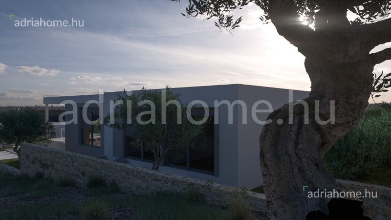Primošten Riviéra – Építési projekt 7 panorámás, luxusvilla építéséhez