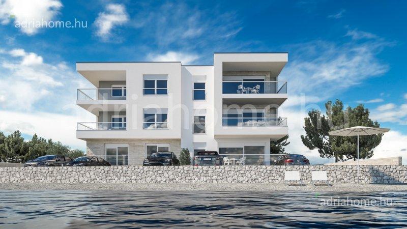 Brodarica – Elsősoros apartmanok Šibenik közelében