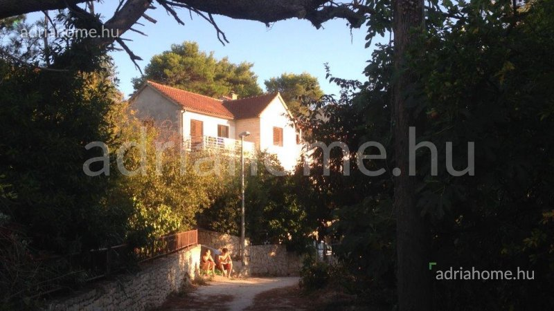 Splitska - Családi ház második sorban Brač szigeten