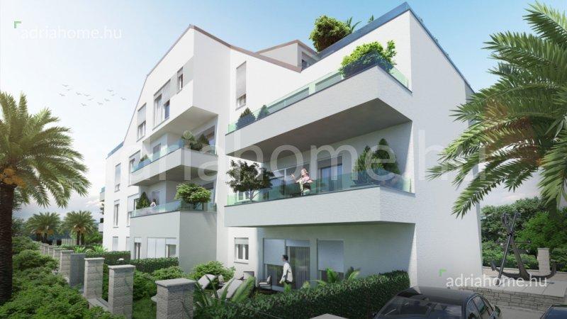 Rogoznica – Újonnan épülő kéthálószobás apartmanok