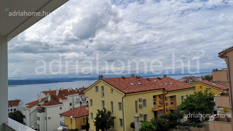 Crikvenica - Újonnan épült, kéthálószobás apartman kilátással a tengerre