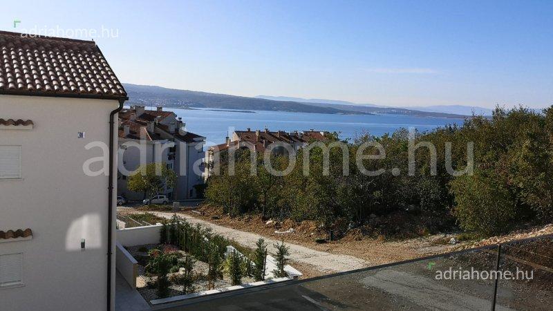 Crikvenica – Újonnan épült apartmanok kilátással a tengerre