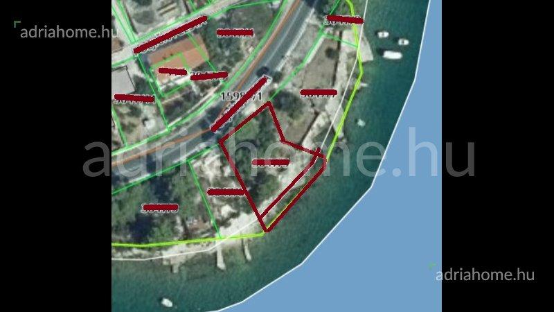 Marina - Građevinska parcela 1. red do mora
