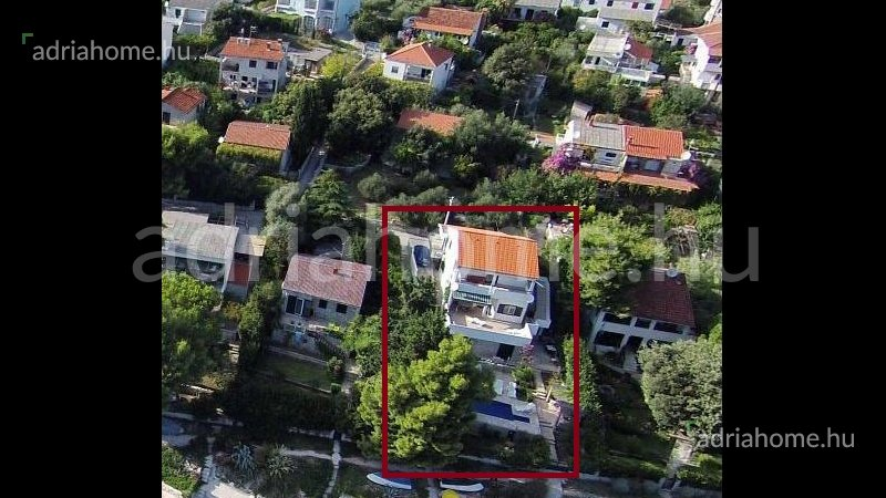 Trogir area - Villa with private beach in the 1st row from the sea