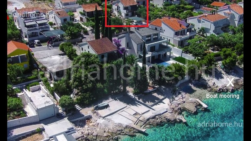 Rogoznica - Family house in the 2nd row from the sea with open sea view